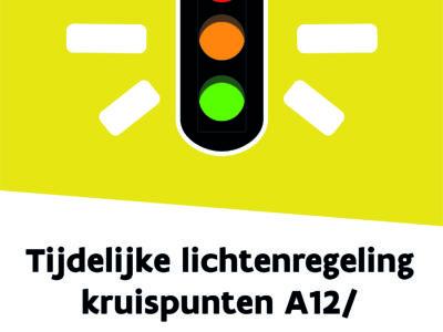 Tijdelijke werflichtenregeling aan kruispunten A12/Boomsesteenweg vanaf 19 augustus