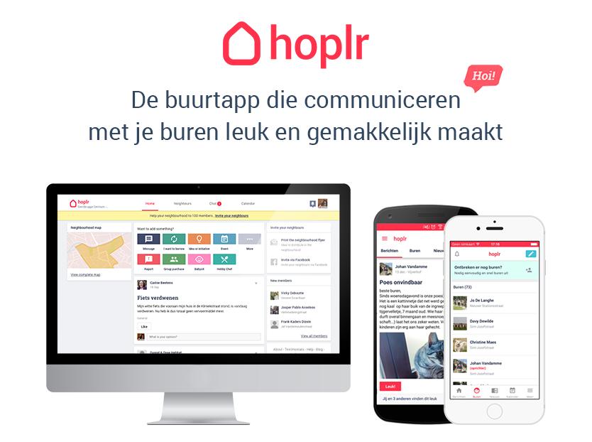 Hoplr: digitaal netwerk voor buren