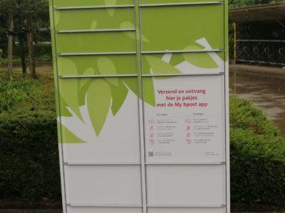 Nieuw: pakjesautomaat aan sporthal Schelle